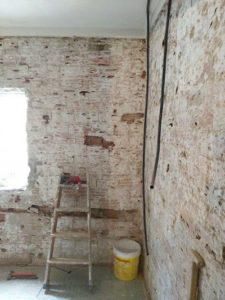 Reformando piso de ocupa